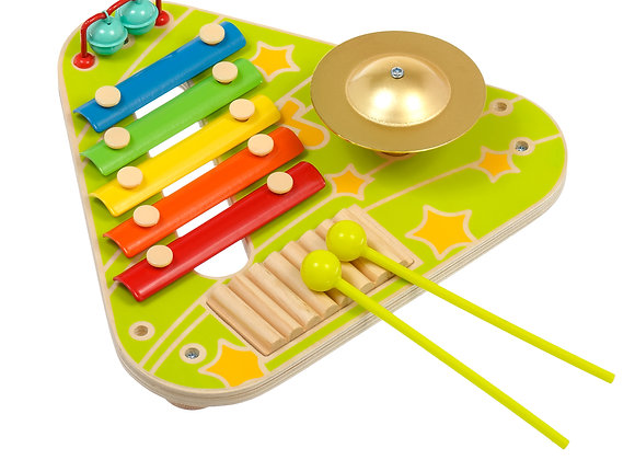 Table musical en bois