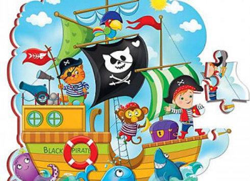 """Puzzle en mousse """"Pirates"""""""