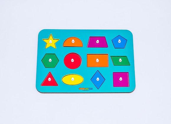 """Puzzle """"Formes géométriques"""""""