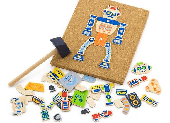 """Kit créatif """"Le robot"""""""