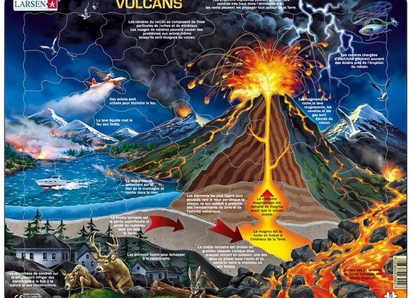 "Puzzle ""Volcans"""