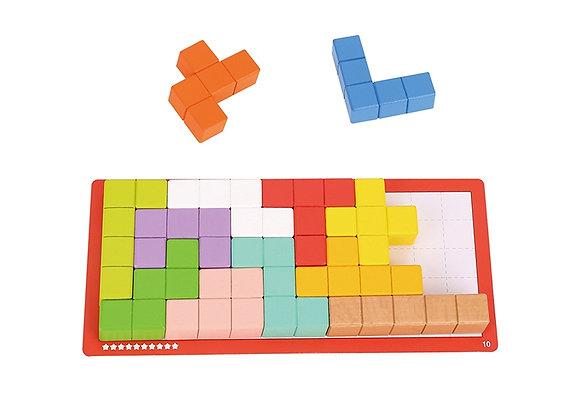 Tetris, 10 Niveaux de difficulté, 22 pcs.