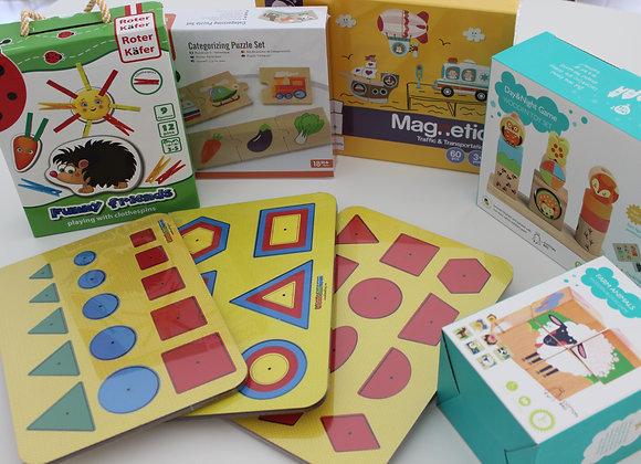 Ensemble de 8 jouets pour les enfants 18-36 mois