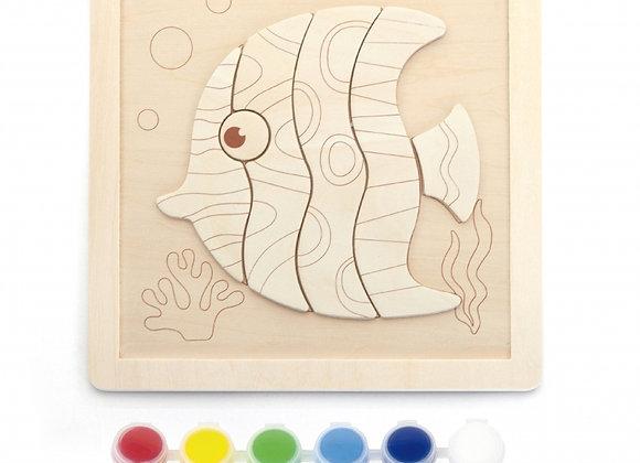 "Kit de Peinture ""Poisson"""
