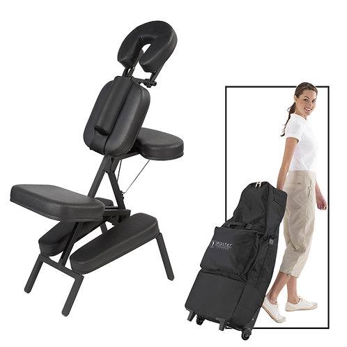 Apollo Portable Massage Chair in Black