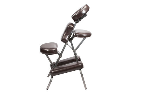 Bedford Portable Massage Chair Package in Burgundy