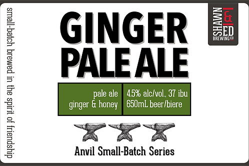 Ginger Pale Ale  4-Pack - Online only