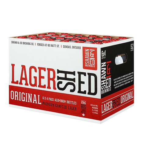 DELIVERY OUTSIDE THE GHA LagerShed 24 Packs