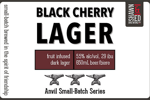 Black Cherry Lager  4-Pack - Online only