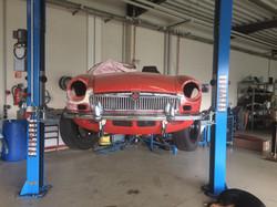 Bens Oldtimer Service MGB Cabrio