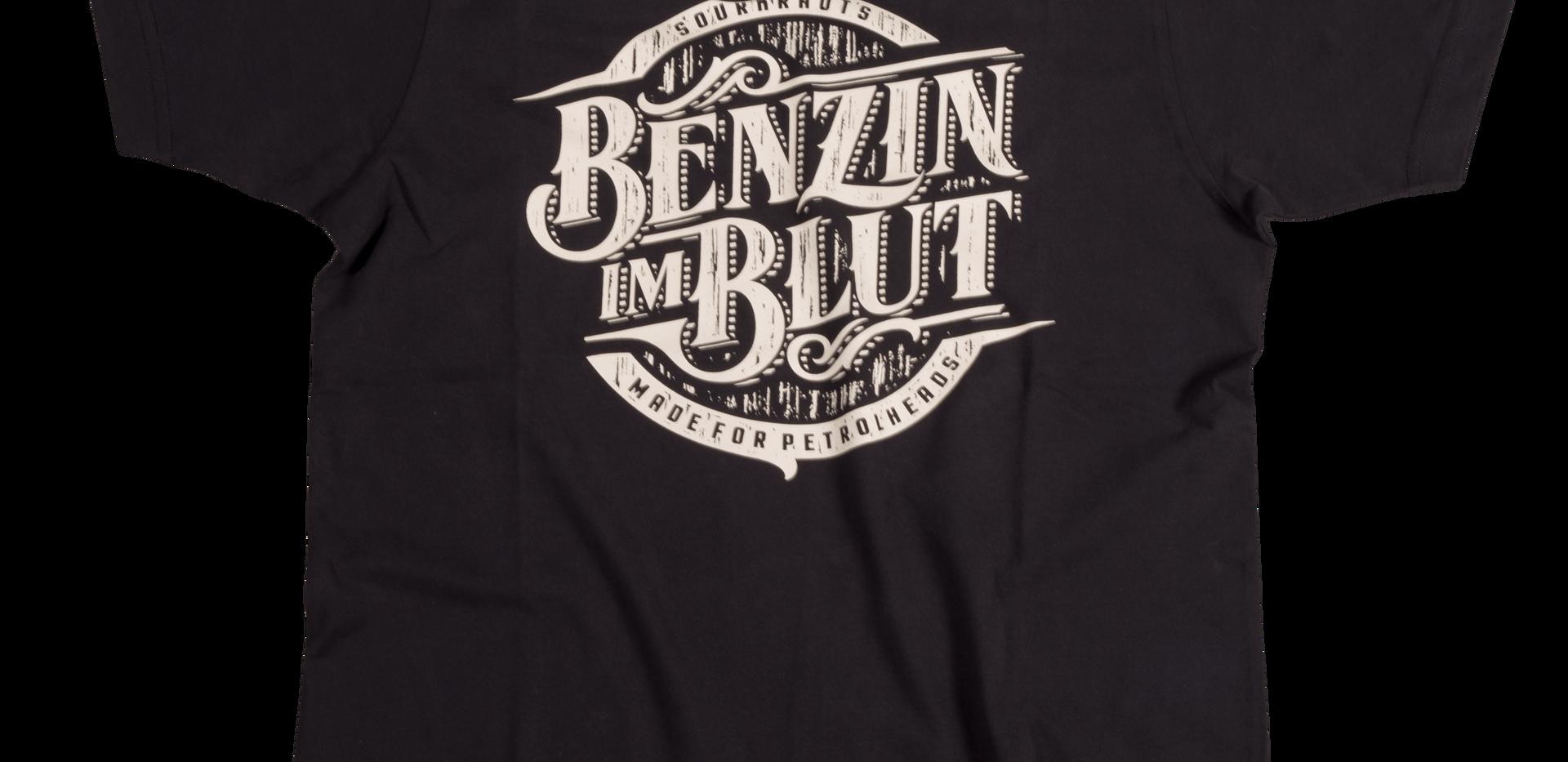 T-Shirt Benzinimblutv3 Schwarz