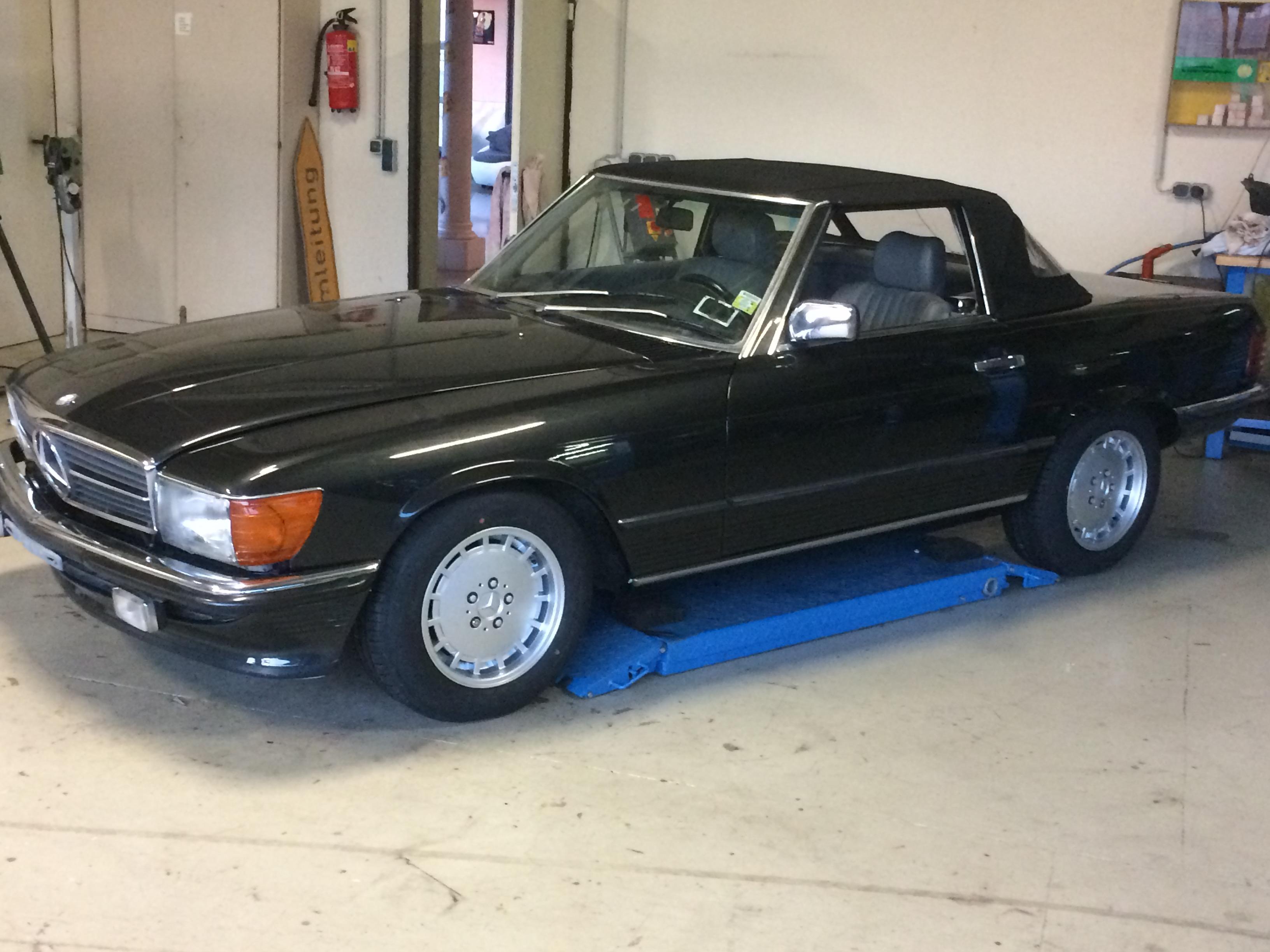 Bens Oldtimer Service Mercedes