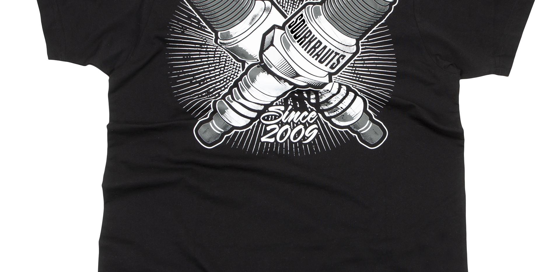 T-Shirt Ignition Schwarz