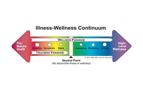 Illnes Wellnes Continuum