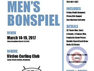 Last week to register for Virden Men's Bonspiel!