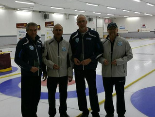 Sandy Ritchie rink with a successful run at Masters Provincials