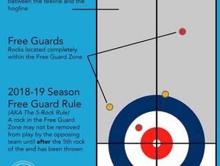 New CCA Rules - 5 Rock Free Guard Zone