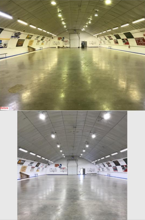 Before & After - New Lights 2018
