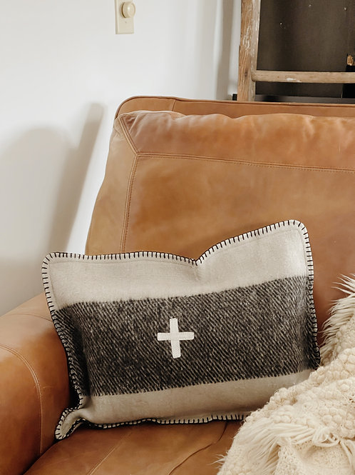 Small Swiss Army Pillow Case