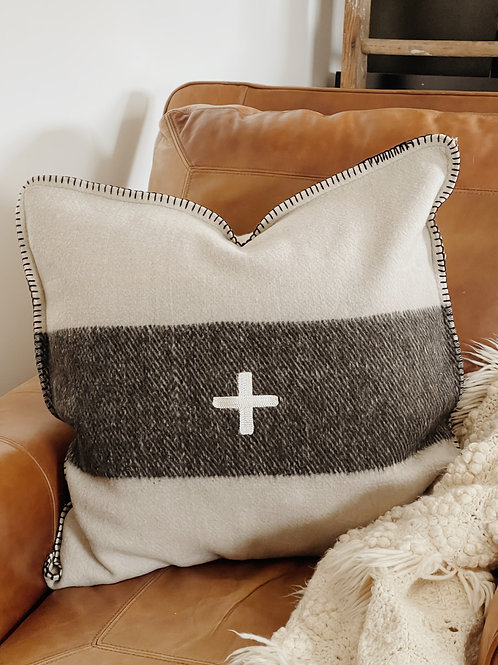 Large Swiss Army Pillow Case
