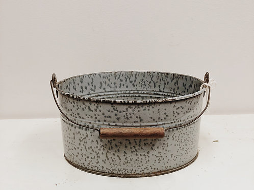 Grey Granite Lunch Pail