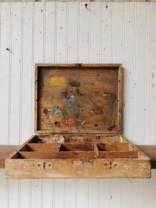Vtg. Artist's Box