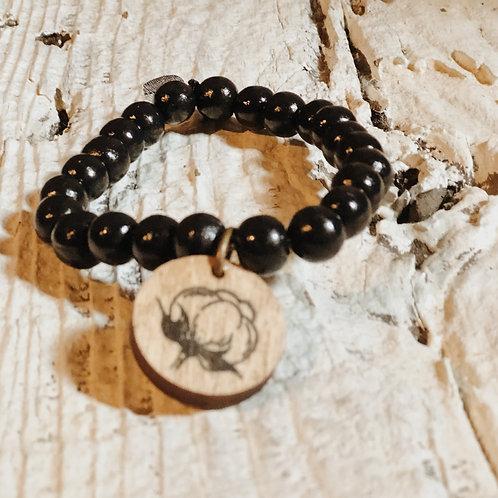 Black Bracelet - The Cotton Shed