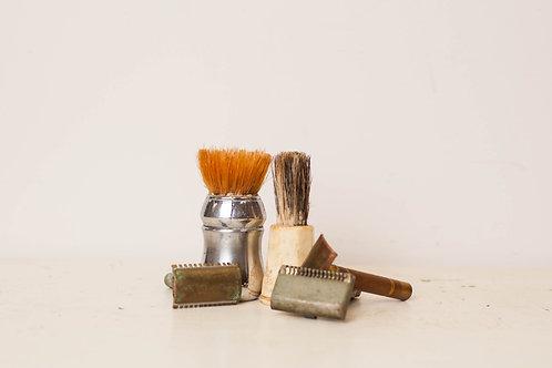 Vintage 5pc Barber Items