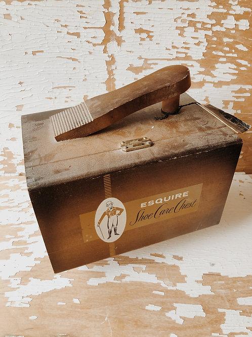 Esquire Shoe Shine Box
