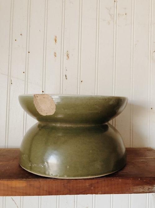 Vintage Stoneware Spittoon