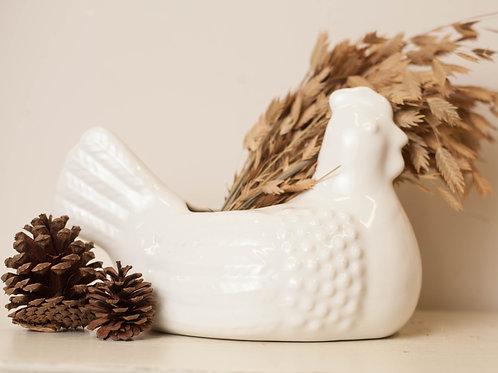 Ceramic Chicken-New