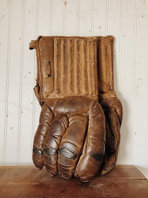 Old Hockey Gloves