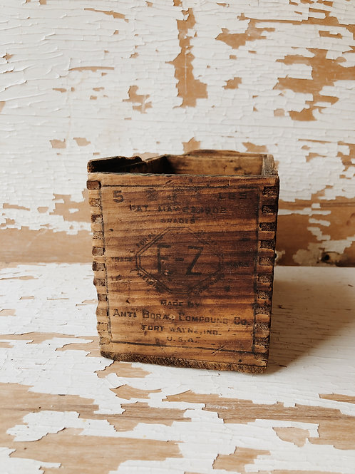 Wood E-Z Box