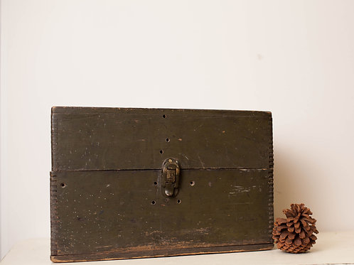 Green Wooden Box