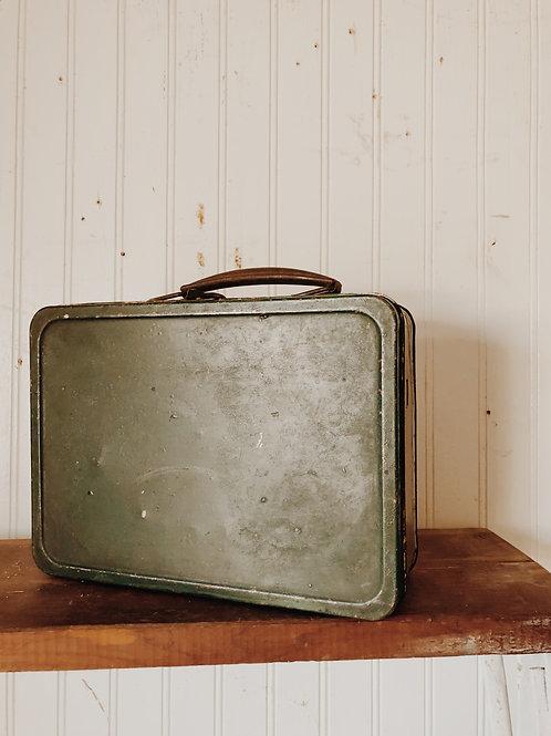 Vintage Metal Lunchbox