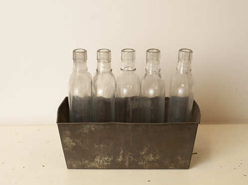 Set of 5 Bottles with Container