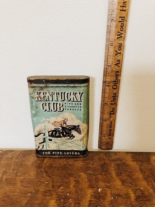 Old Tobacco Tin