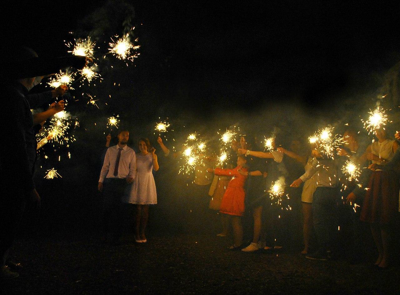 Оформление фотосессий с огнем