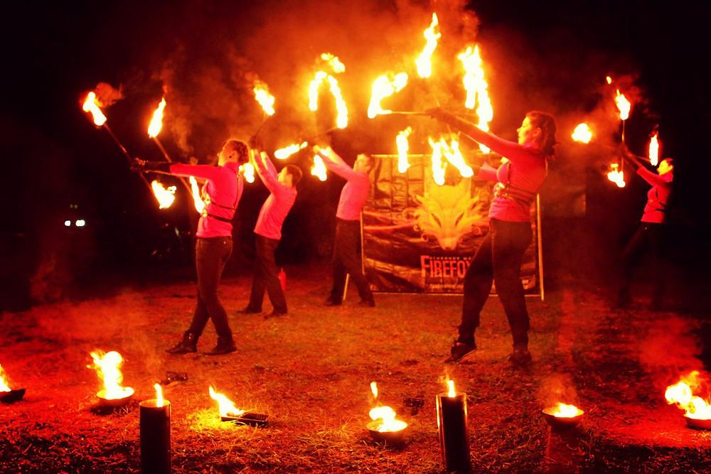 Шоу Красное пламя