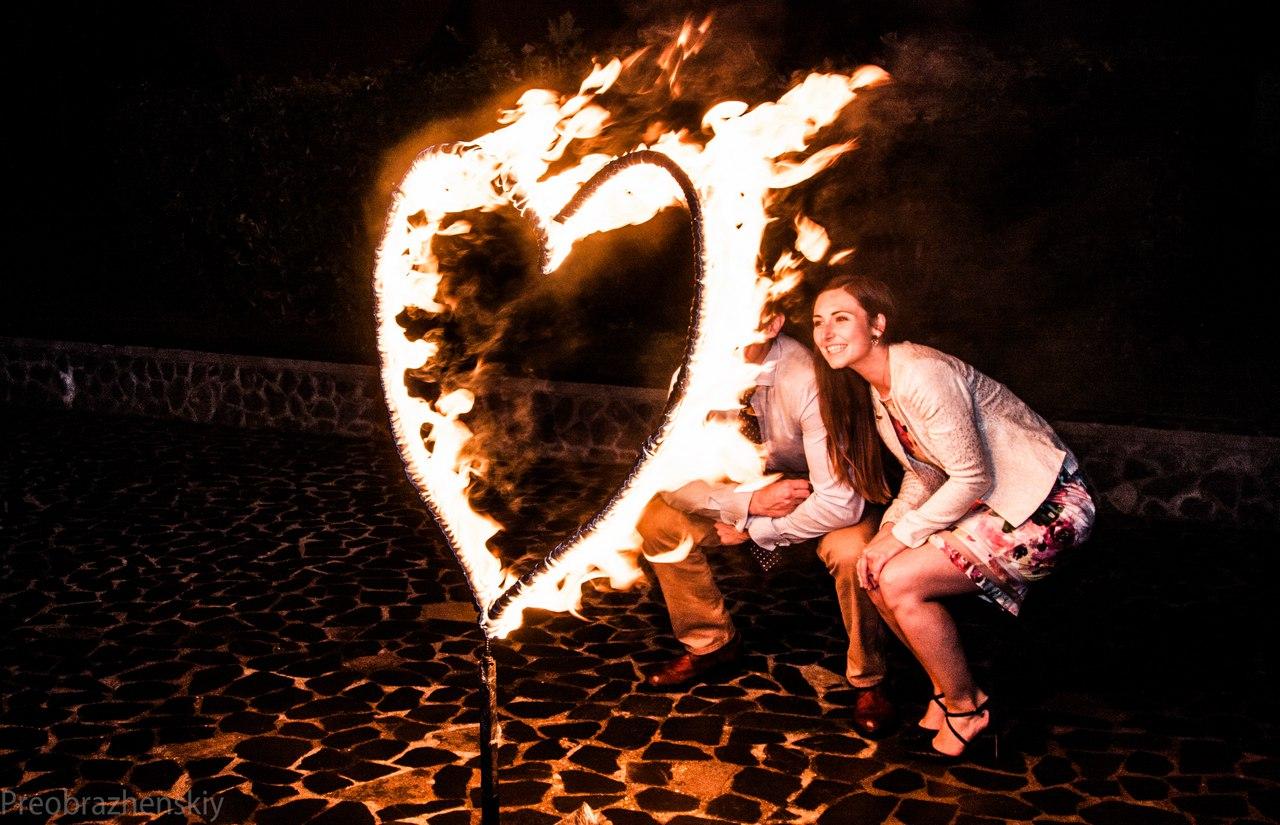 Огненное сердце - подарок любимым