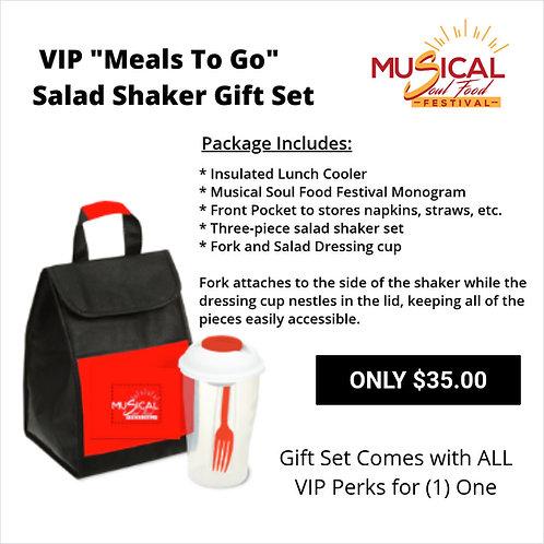 "VIP ""Meals To Go"" Salad Shaker Set"