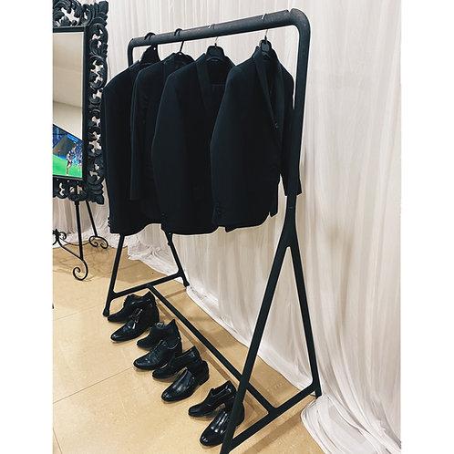 Black Suit Rack