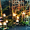 Thumbnail: Cluster of 10 Floating Candles with Holders