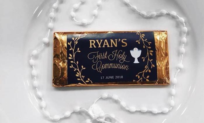 Ryan's Holy Communion
