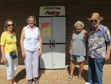 June 25, 2021 - Little Free Pantry in the News!