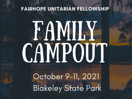 1st Annual FUF Family Campout!