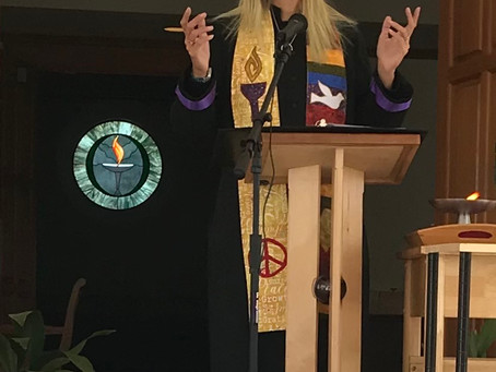 June 27, 2021 - Reverend Maggie Lovins