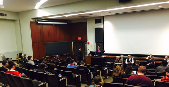 Presenter at Columbia University