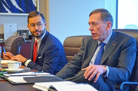 Strategic Partnership with General David Petraeus