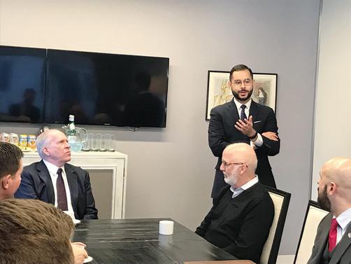 Strategic Partnership with CIA Director John Brennan